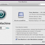 Time Machine auf Mavericks 10.9 auf ein Linux NAS
